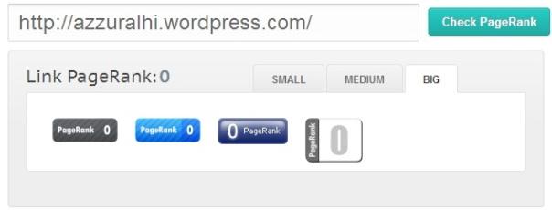 Page Rank Blog