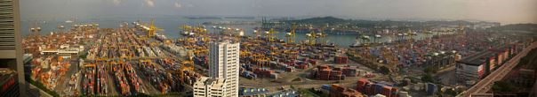 Singapore_port_panorama pelabuhan