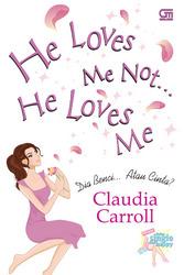 he love me not, he love me - resensi buku