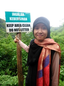 Lokasi : jalan setapak menuju Coban Pelangi - Bromo/Malang