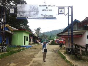 Selamat datang di desa Ciboleger..