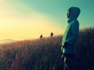 Pagi di Gunung Guntur