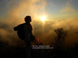 Mahakarya Sang Pencipta. Foto dijepret oleh mpok Atik :-*