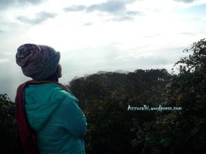 Menikmati pagi di Gunung Cikuray-Garut