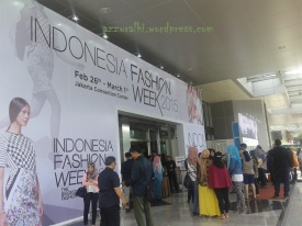 Indonesia Fashion week 2015 #1