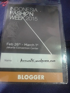 Indonesia Fashion week 2015 #5