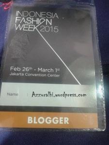 Indonesia Fashion week 2015 #5