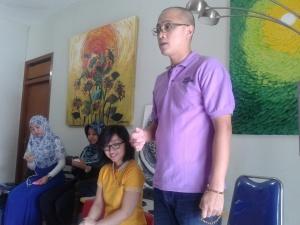 Blogger Hangeout  Abon Jambrong Unia 6
